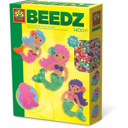 SES Creative® Beedz - Strijkkralen zeemeermin