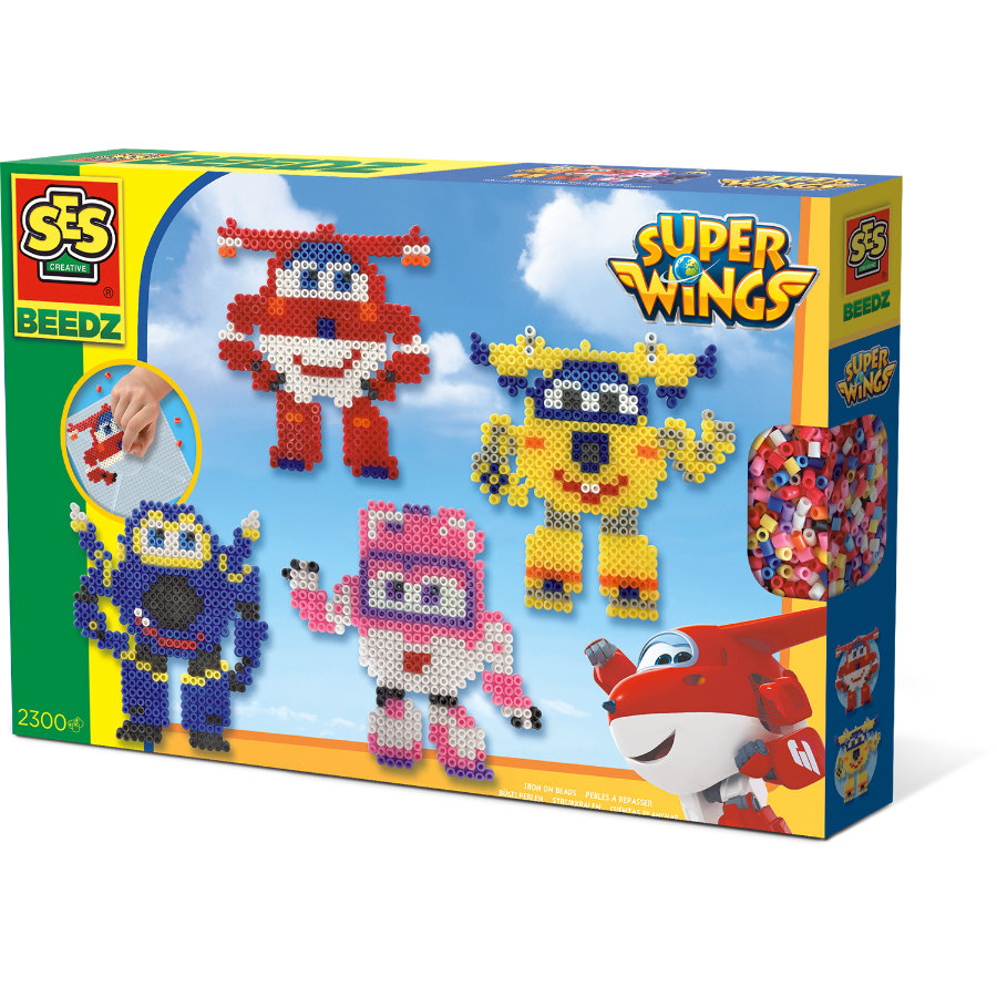 SES Creative® BEEDZ Bügelperlen Super Wings