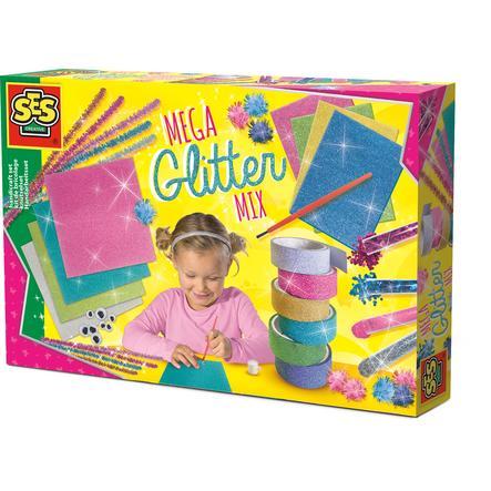SES Creativ e® Mega Glitter juego de manualidades