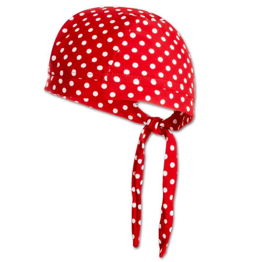PLAYSHOES Girls UV-Schutz Kopftuch Punkte rot
