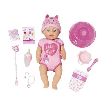 Zapf Creation Poupée BABY born® Soft Touch Girl