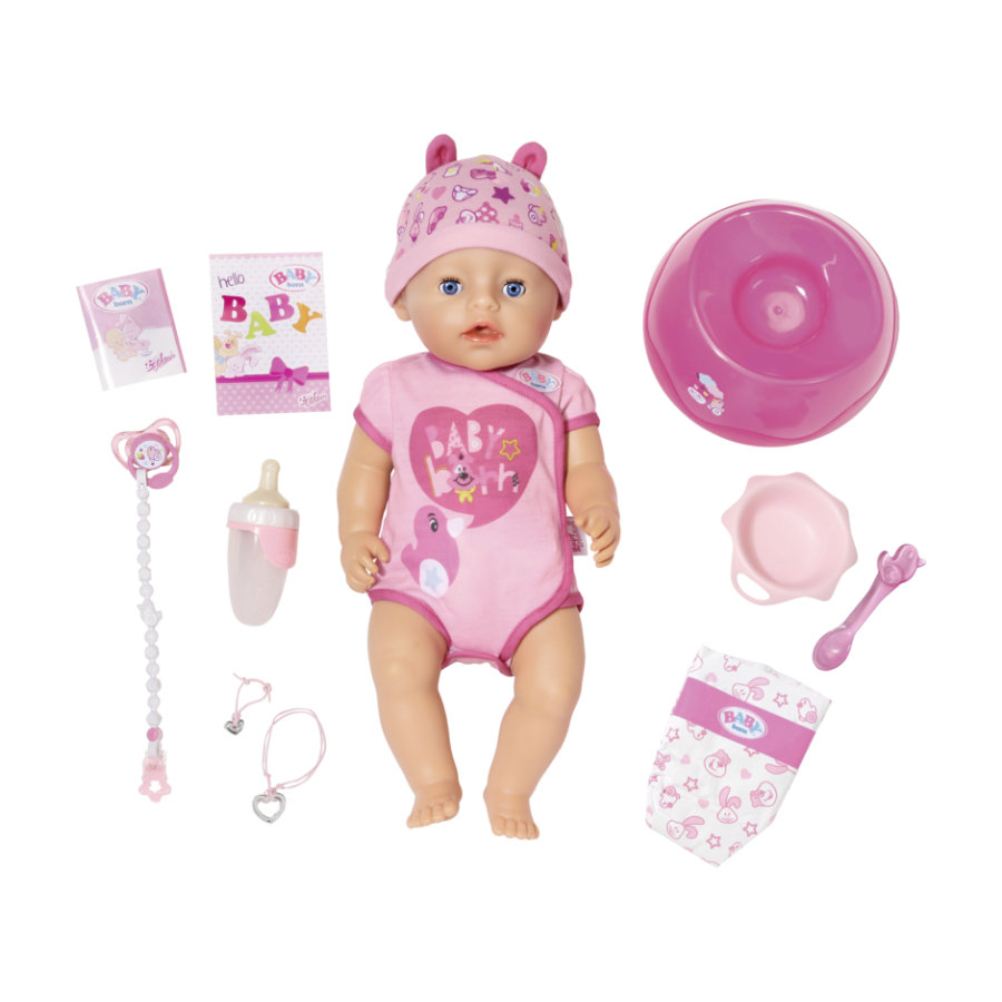 Zapf Creation BABY born® Soft Touch Girl, 43 cm
