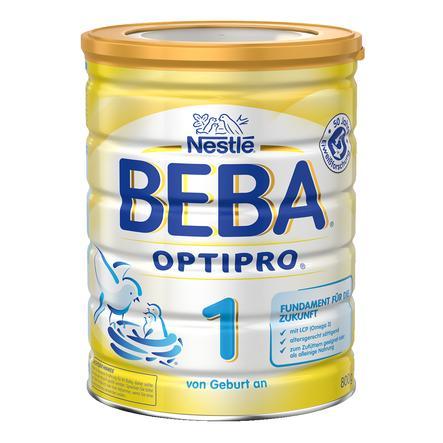 Nestlé BEBA OPTIPRO 1 Anfangsmilch 800 g von Geburt an