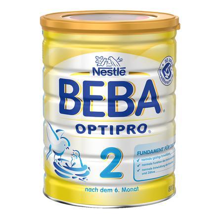 Nestlé BEBA OPTIPRO 2 Folgemilch 800 g ab dem 6. Monat