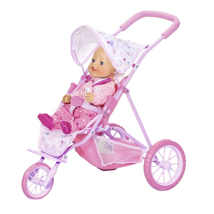 Zapf Creation BABY born® Tri Pushchair rosa