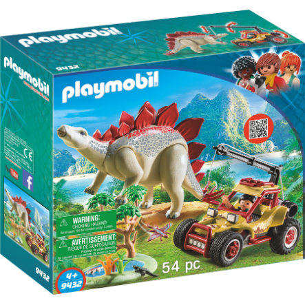 playmobil® THE EXPLORERS Forschermobil mit Stegosaurus 9432