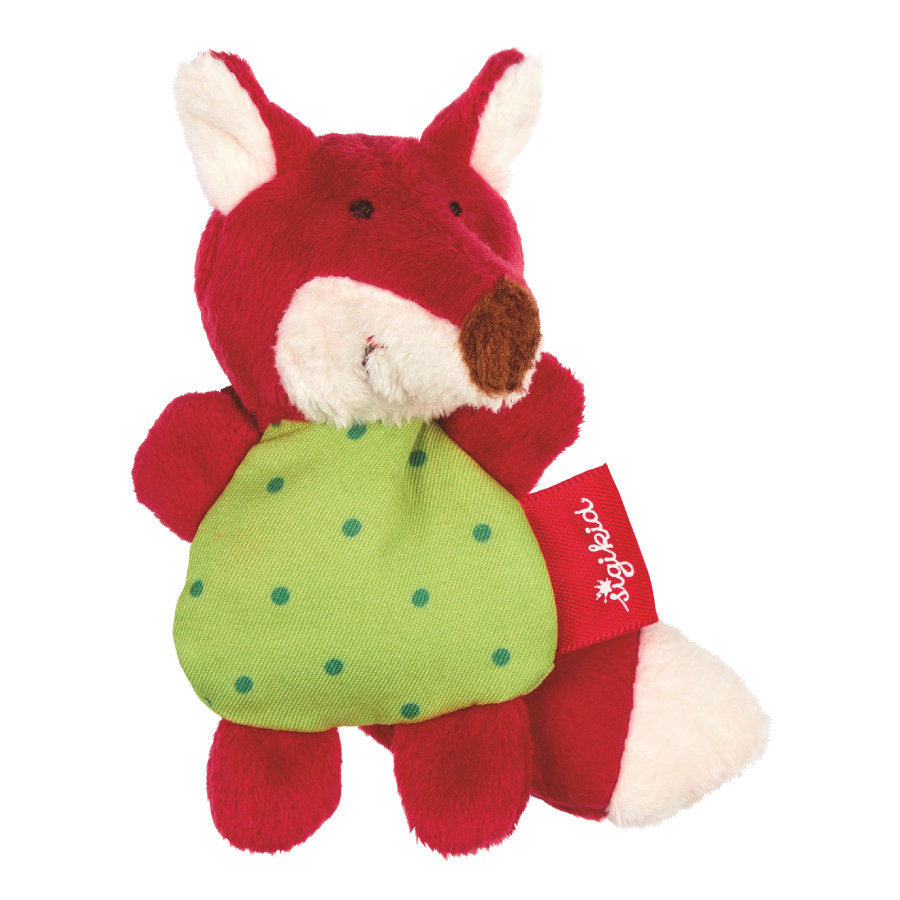sigikid® Mini-Rassel Fuchs red stars