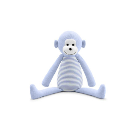 BELLYBUTTON Knuffelaap white/light blue striped
