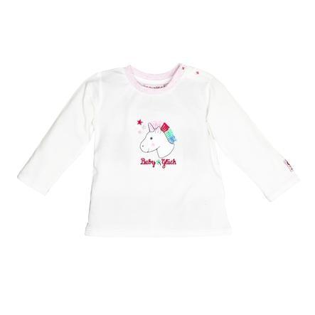SALT AND PEPPER Szczęście dla dziecka, koszula z długim rękawem z białego.