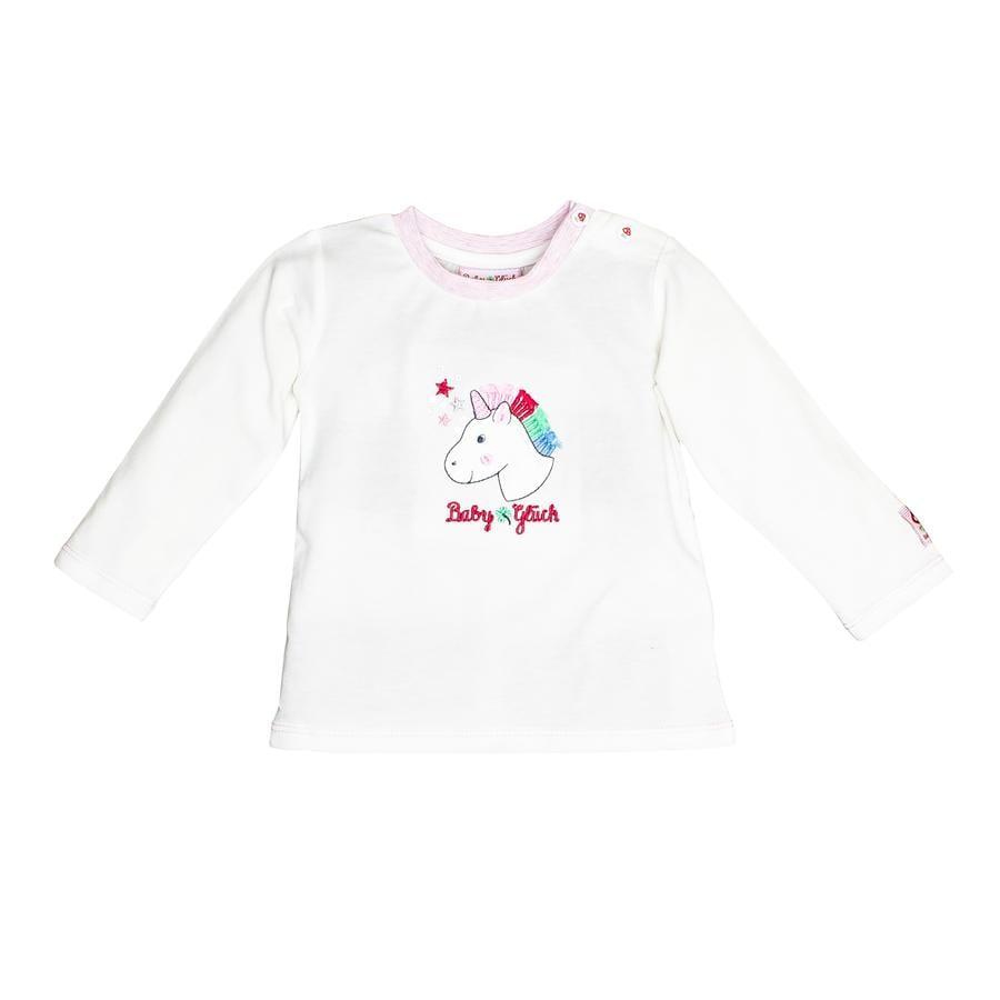 SALT AND PEPPER Baby luck shirt met lange mouwen gebroken wit
