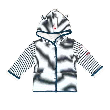 SALT AND PEPPER BabyLucky Sweat Jacket indigo blue melange