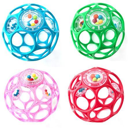 Oball chrastící míček 10 cm