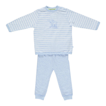 Sanetta Boys Schlafanzug blau melange