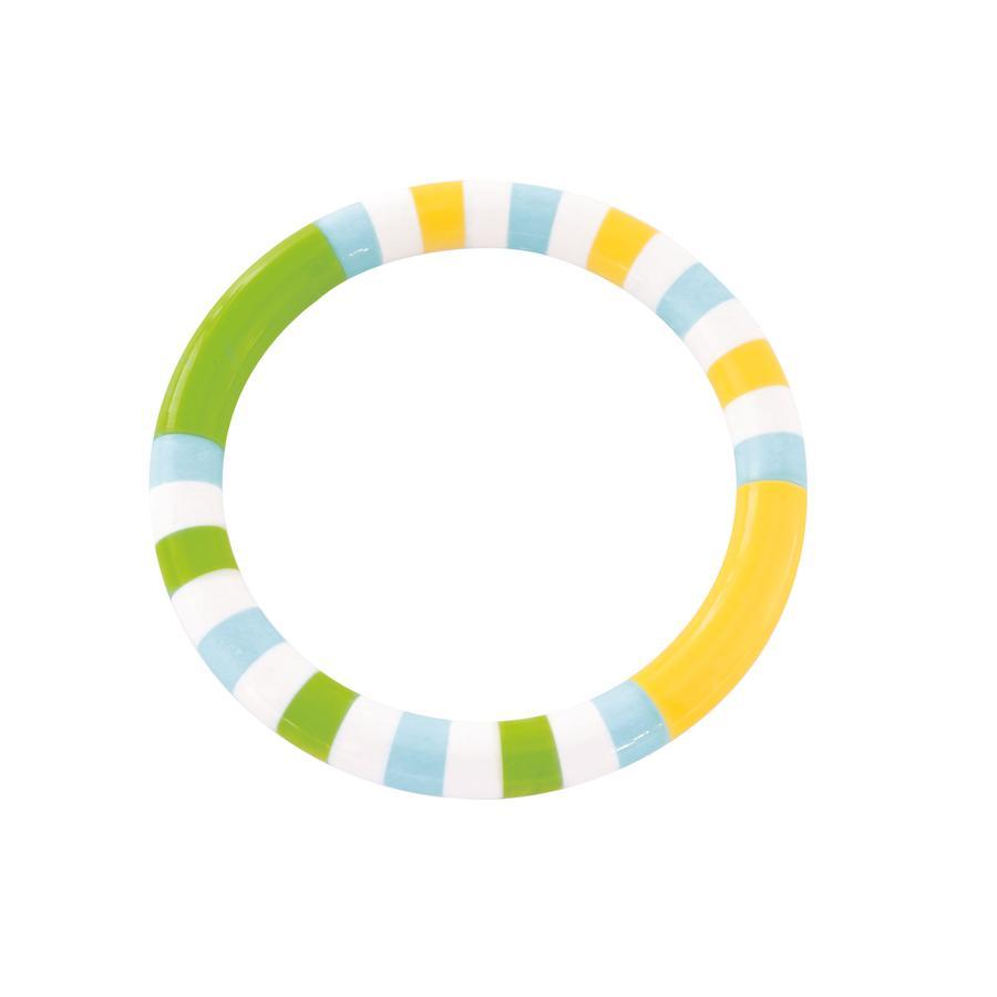 bieco Ringrassel grün/gelb