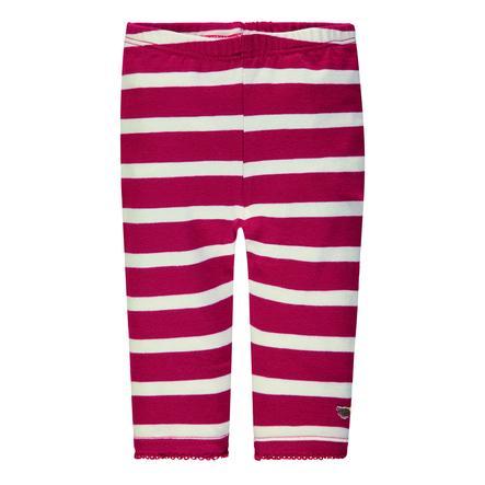 Steiff Girl s Leggingsleer, rood gestreept
