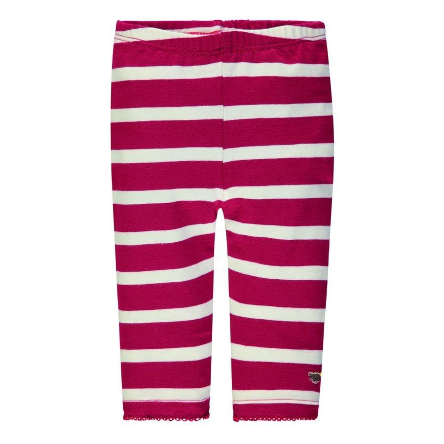 Steiff Girl Leggings s, rayé rouge