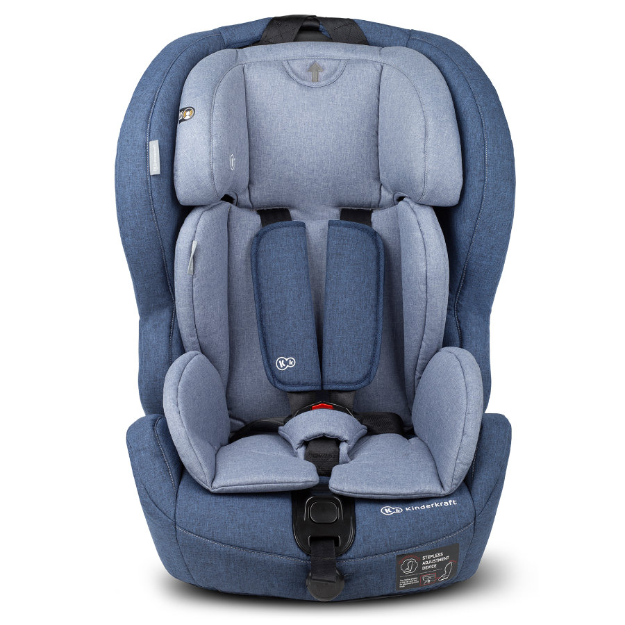 Kinderkraft Silla de coche Safety-Fix con Isofix azul
