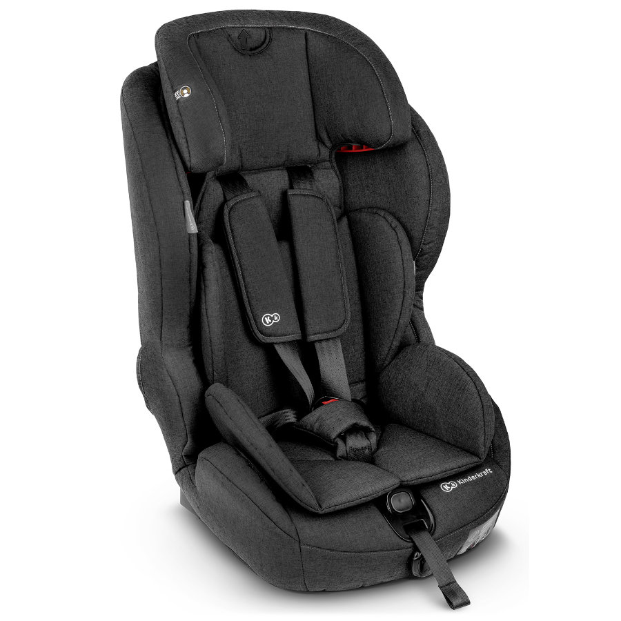 Kinderkraft Safety-Fix barnesete med Isofix svart