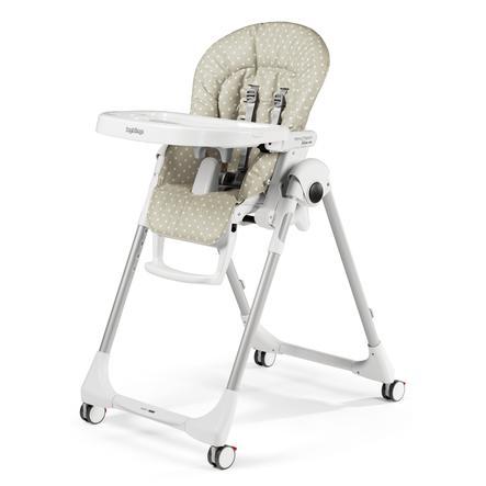 Kinderstoel Baby 0 Maanden.Peg Perego Kinderstoel Prima Pappa Follow Me Babydot Beige