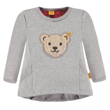 Steiff Girls Sweatshirt, grau
