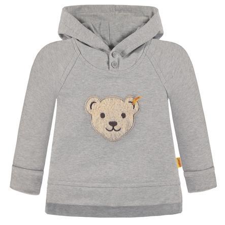 Steiff Boys Sweatshirt mit Kapuze, grau