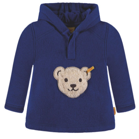 Steiff Boys Fleece Sweatshirt, blau