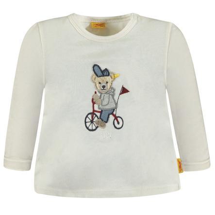 Steiff Boys Shirt met lange mouwen, wit