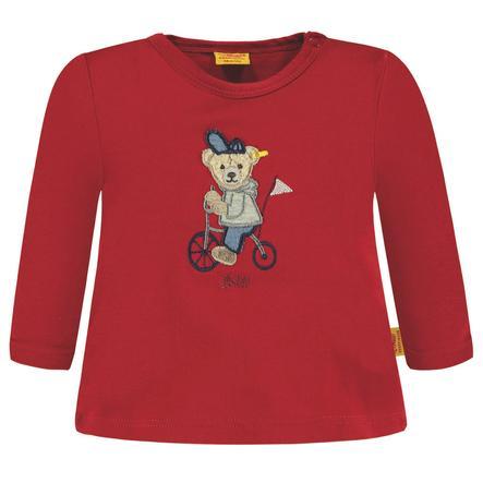 Steiff Boys Camisa de manga larga, roja