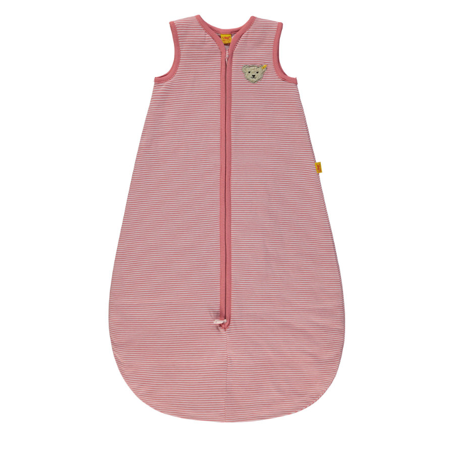 Steiff Girls Schlafsack, rosa gestreift