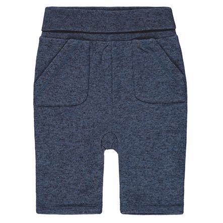 Steiff Boys joggingbroek, blauw gevlekt