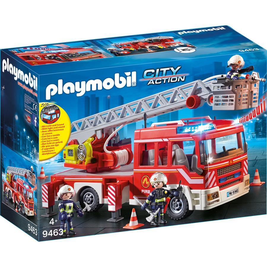 PLAYMOBIL® CITY ACTION Feuerwehr-Leiterfahrzeug 9463 -