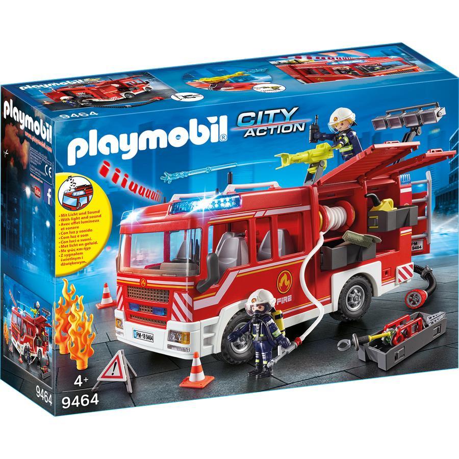 PLAYMOBIL® 9464 Hasičské auto se stříkačkou
