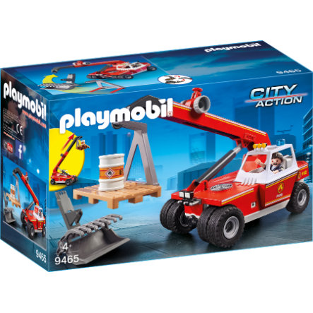 PLAYMOBIL® CITY ACTION Teleskophandtag för brand 9465