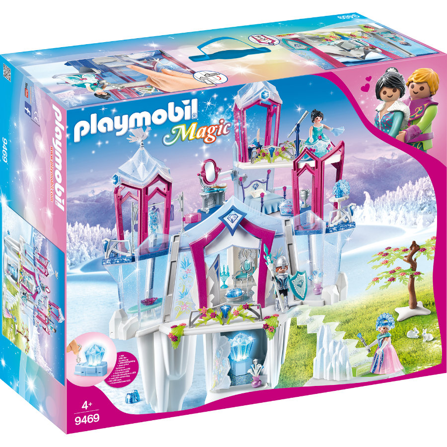 PLAYMOBIL® Magic Funkelnder Kristallpalast 9469