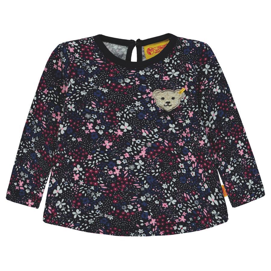 Steiff Girl s Camisa de manga larga con flores