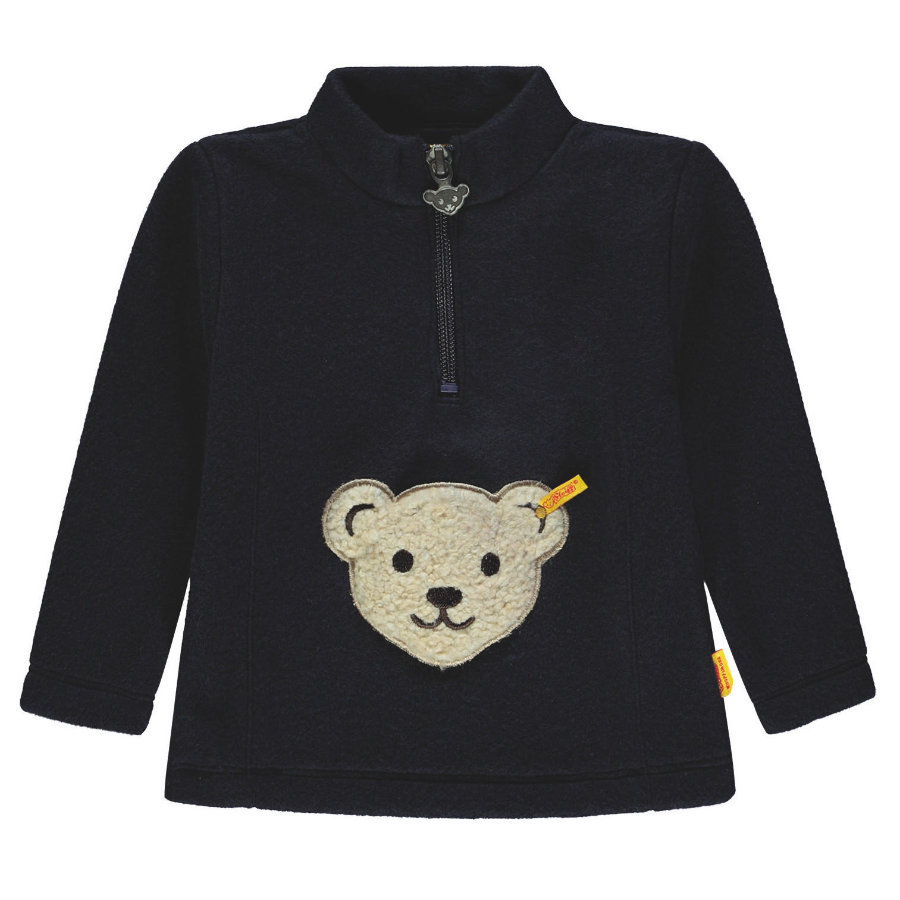 Steiff Sweatshirt Fleece, marine