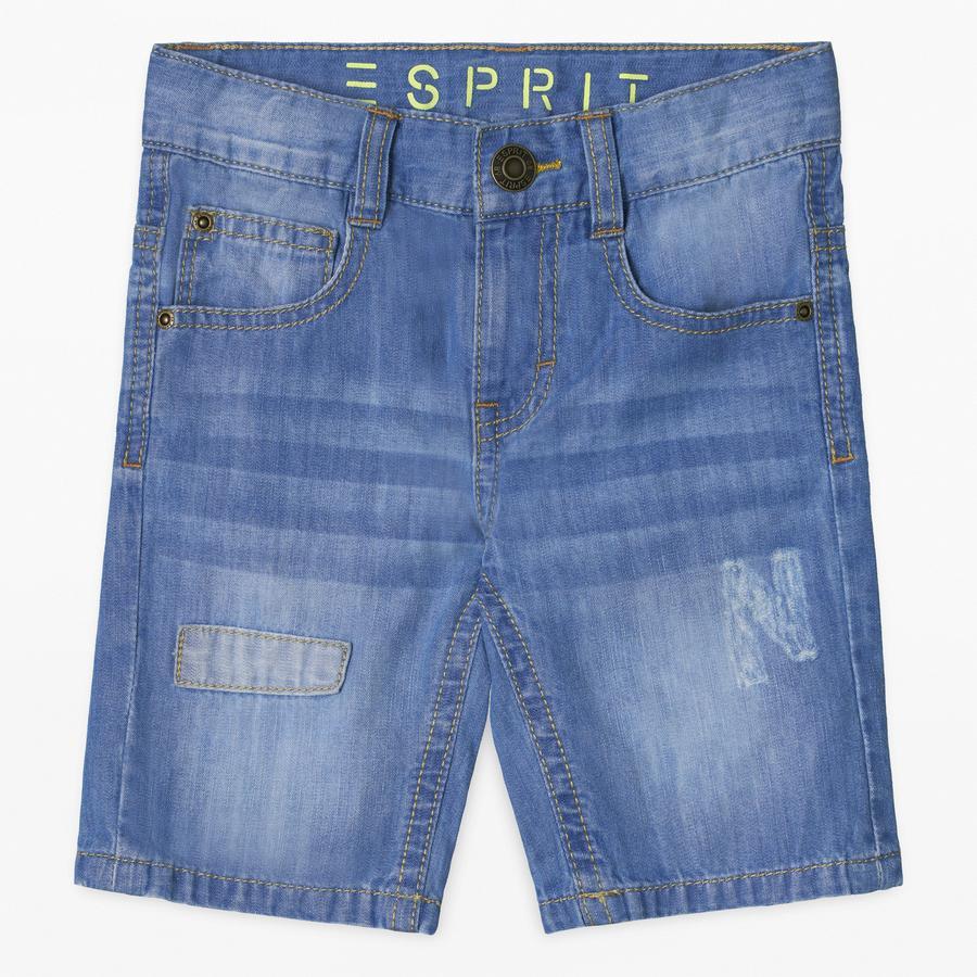 ESPRIT Boys Dżinsy Szorty Średnie pranie