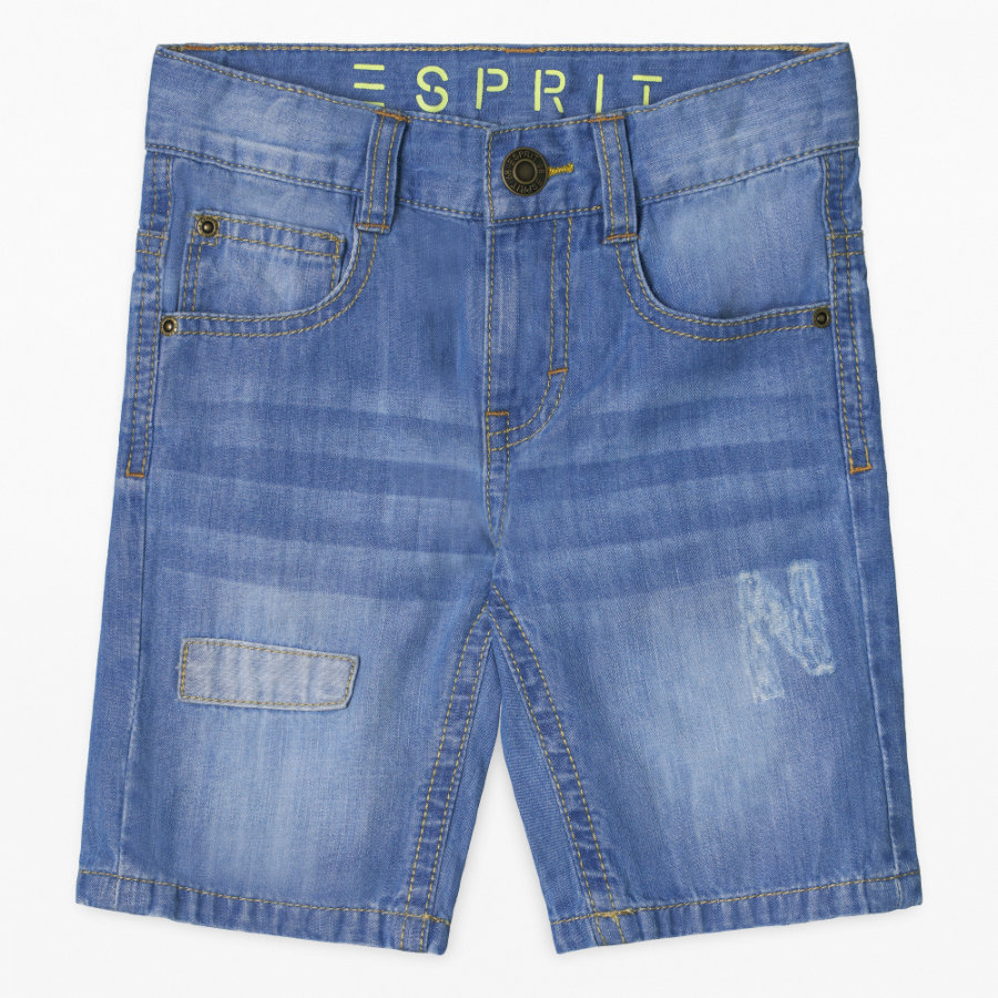 ESPRIT Boys Jeans-Shorts medium wash