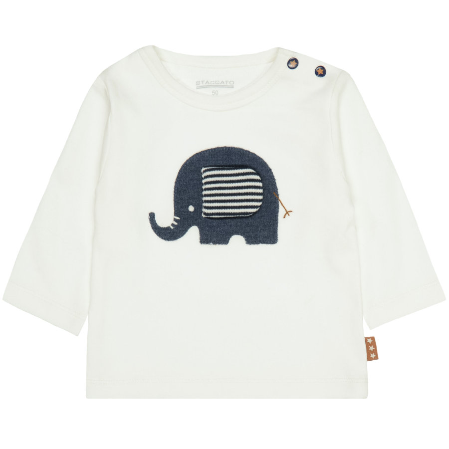 STACCATO Boys Langarmshirt warm white