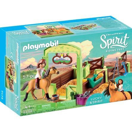 "PLAYMOBIL® 9478 Koňský box ""Lucky & Spirit"""