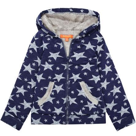 STACCATO Girl s chaqueta sudadera navy stars