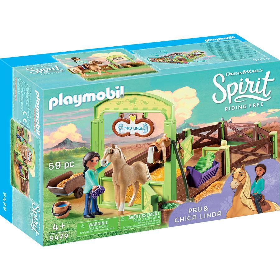 """PLAYMOBIL® 9479 Koňský box """"Pru & Chica Linda"""""""