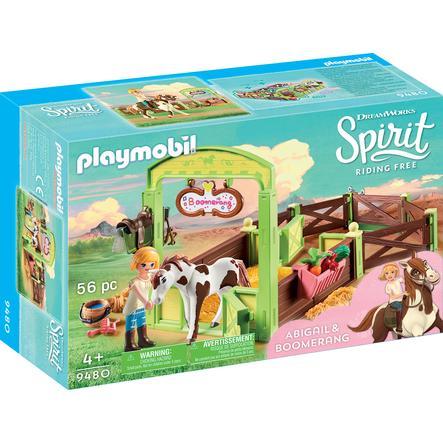 """PLAYMOBIL® Spirit Riding Free Hästbox """"Abigail och Boomerang"""" 9480"""