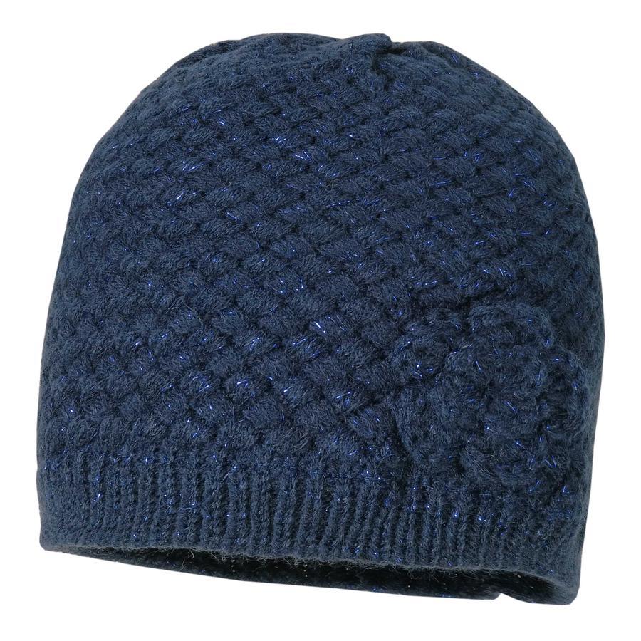 maximo Girls Crocheted cap navy