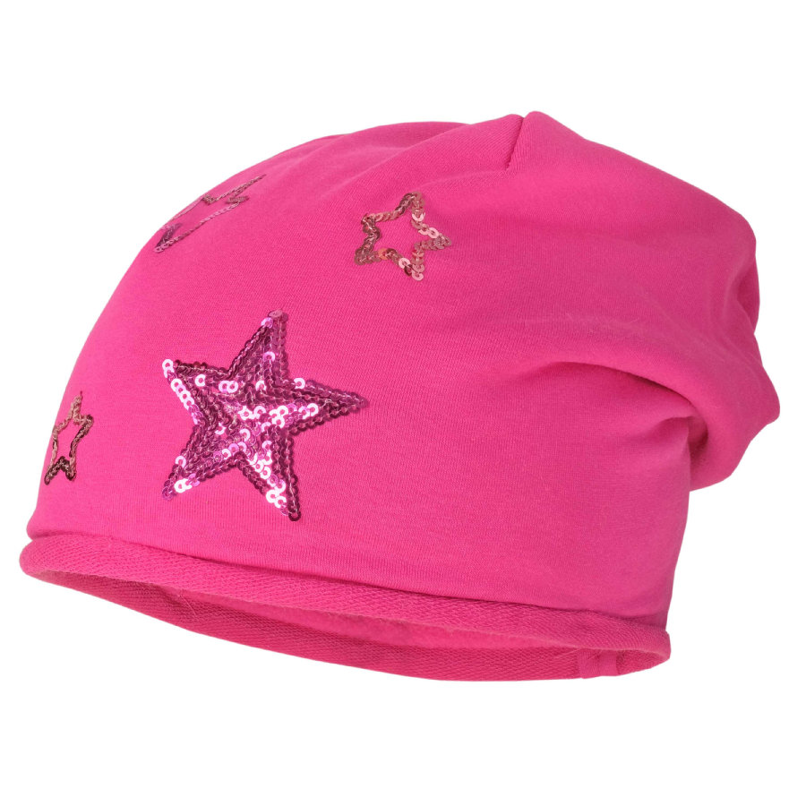 maximo Girls Beanie dunkelpink