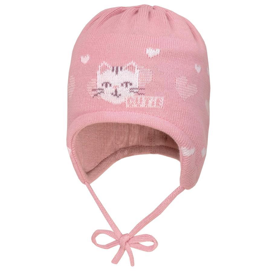 maximo Girl gorra rosa ártico-blanco