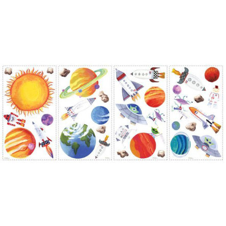 ROOMMATES Wall Stickers - Universet