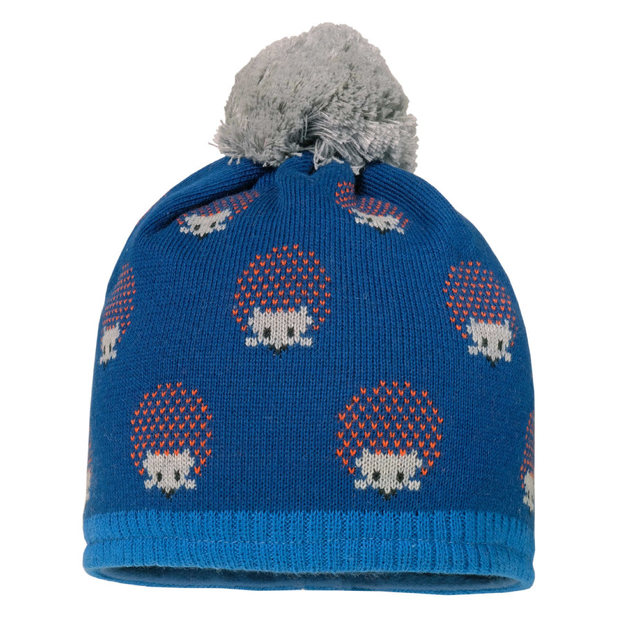 maximo Chlapecká čepice ježek modrý opál-safír