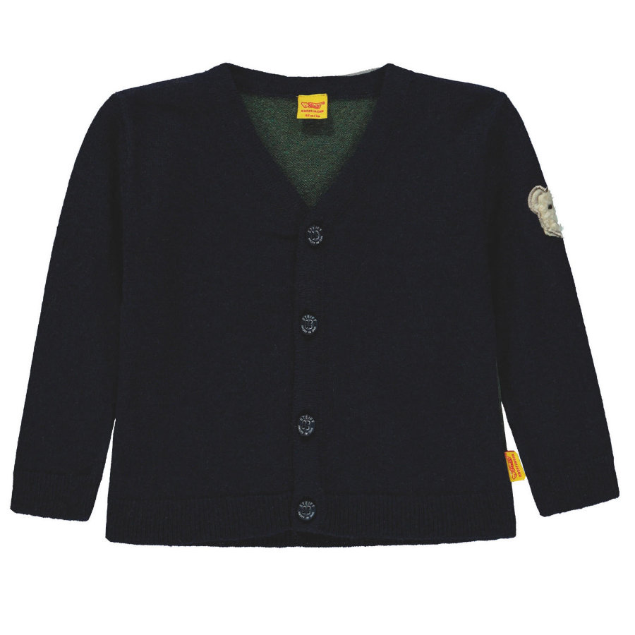 Steiff Boys Strickjacke, marine