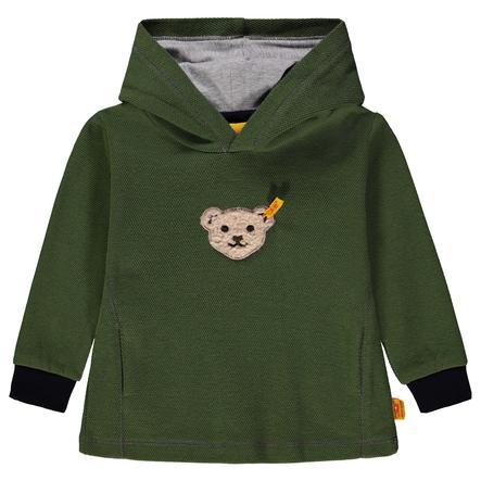Steiff Boys Sweatshirt, oliv